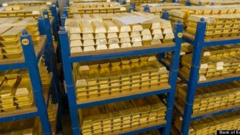 The Bank of England has refused to repatriate 31 tons of Venezuelan gold in its vaults since late 2018. (Bank of England)
